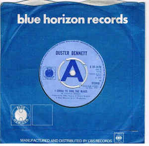 Duster Bennett:I Chose To Sing The Blues