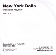 New York Dolls:Manhattan mayhem