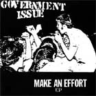 Government Issue: Make An Effort