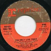 NANCY SINATRA:you only live twice