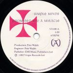 SIMPLE MINDS: Promised You A Miracle