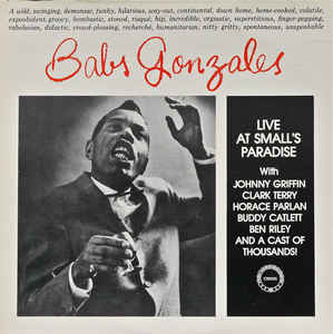 Babs Gonzales:Live at Small's Paradise