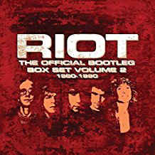 Riot: The Official Bootleg Box Set Volume 2 1980-1990