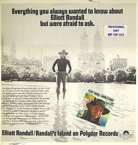 Elliot Randall: Randall's Island - Everything You Always Wanted To Know About Elliott Randall But Were Afraid To Ask