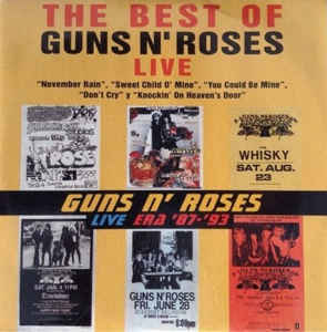 Guns N' Roses: The Best Of Guns N' Roses Live - Promo