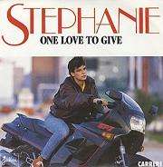 Stephanie:One love to give