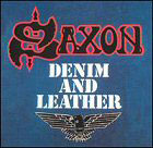 Saxon:denim and leather