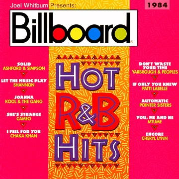 VA: Billboard Hot R&B Hits 1984